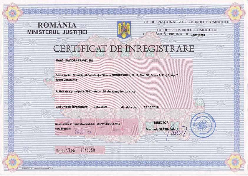 Certificat-Inmatriculare
