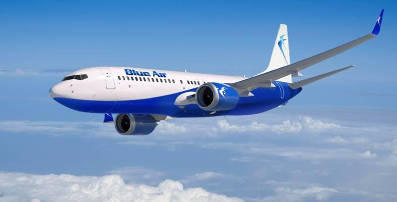 Zboruri noi din si catre Constanta cu Blue Air