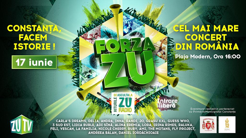 Forza Zu, pe plaja Modern